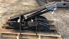 Manca 12x30 mini excavator hydraulic thumb with 3-Ar400 tines!