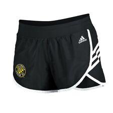 Columbus Crew SC MLS Adidas Women's Black 3-Strie Woven Shorts