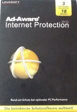 PC DVD-ROM Ad-Aware Internet Protection 2010 (LAVASOFT) 3 emplois licences