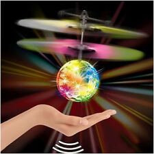 Flying Ball LED Flashing Light Up UFO Induction Control Toy Party Birthday Gift