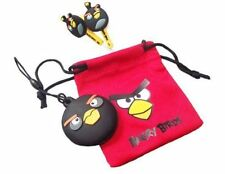 Angry Birds Bird Ear Buds Accessory Set Nintendo DSi XL 3ds 4 Piece Black