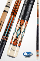 Viking Cues - Two Feather Anasazi - Limited Edition - Pool Cue