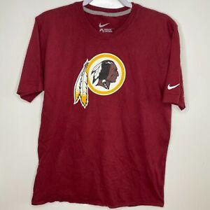 Nike T-Shirt Men's Size M Red Washington Redskins #10 RG3 Robert Griffin III