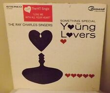 """The Ray Charles Singers  """"SOMETHING SPECIAL FOR YOUNG LOVERS"""" 1964 COMMAND LP"""
