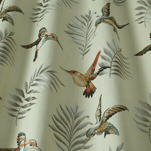 Montserrat Henna - By iliv - Embroidered Fabric - 3.5 Metre Piece