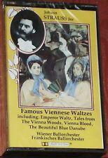 Strauss Jnr. Famous Viennese Waltzes CASSETTE ALBUM Bibi Music BBM55 NEW SEALED