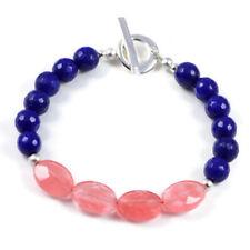 Semi-Precious Gemstone Jade-Watermelon Faceted Beads 7.8 inch Luxury Handmade...