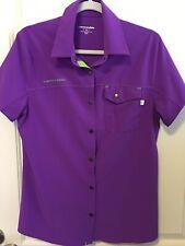 Cannondale Womens Shop Shirt - Large - Purple - Euc