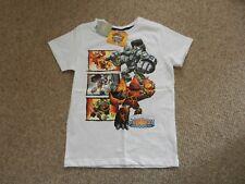 BNWT Next White Skylanders Giants Eruptor Crusher Chop Chop T-shirt Age 3 Years