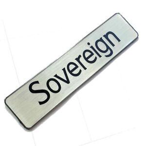 Jaguar XJ40 Sovereign - Replacement Badge Insert