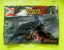 Lego Marvel Super Heroes 30447 Captain America Motorcycle Polybag Ovp Neu