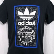 Adidas Originals Mens T Shirt Trefoil Monkeys Apes Zoo Banana Black Size Small