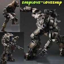 Free Play Arts Kai Titanfall Atlas & Pilot Armor Robot Collect Action PVC Figure