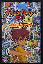 JAPAN Inazuma Eleven GO Cho Bakunetsu TCG Fan Book