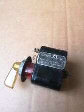 VINTAGE CLASSIC CAR TRUCK SWITCH CLEAR 6V
