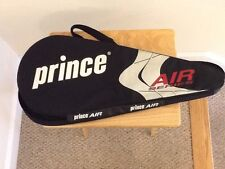 Prince Air Tennis Racquet Racket Bag Cover Vented With Strap And I.D. Card Nice!