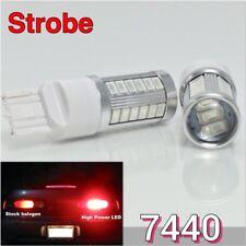 Strobe Reverse Backup T20 7440 7441 12V 33SMD Red LED Light K1 For Acura HAK