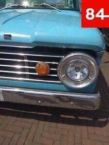 Dodge D100 D-100 Pickup Truck P100 2x Headlight Eu US E-Certified Refit +