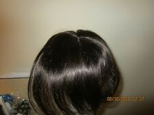 "100% Remy 12"" Human Hair Silk Base Crown Topper"