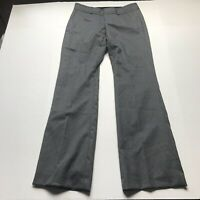 Banana Republic Rayan Fit Gray Wool Blend Trouser Pants Size 6 a1085