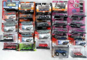 Lot 26 M2 Machines Auto World AW 1:64 Scale Diecast Cars Vintage Modern Muscle