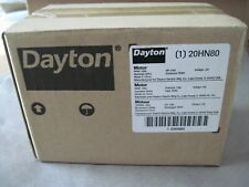 Dayton 20HN80 HVAC Motor 120V 1/50 HP CW/CCW Rotation  New Sealed