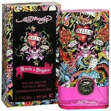 Hearts And Daggers By ED HARDY 1.7fl oz Eau De Parfum Spray For Women AUTHENTIC