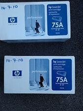 Genuino Original HP 92275A/75A Tóner para HP LaserJet IIP IIIP-Negro
