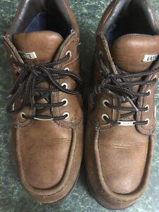 mens lacoste boots size 9 Rare