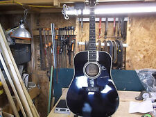 Esteban American Legacy Acoustic Electric Guitar Model AL-100 W Hard Case & Amp