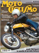 MOTOCICLISMO D'EPOCA FEBBRAIO 2003 - DUCATI 750 SPORT - YAMAHA TZ 350 - MORINI