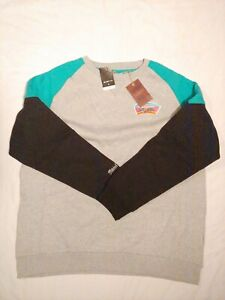 Mitchell & Ness San Antonio Spurs Trading Block Crewneck Sweatshirt