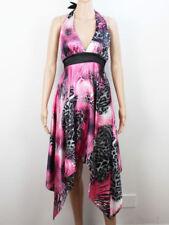 Summer/Beach Halter Neck Regular Size Dresses for Women