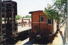 5E600E RP CABOOSE #4742 SOUTHERN PACIFIC RAILROAD TEHACHAPI CA 1999