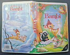 VHS tape black diamond classic BAMBI model 942