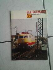 Fleischmann-catalogo/opuscolo -- USATO-ANNO 1971