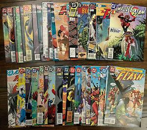 The Flash Impulse DC Lot of 35 Comics Annual 1 2 4 7 10 89 101 124 153 228 235