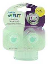 Philips Avent Newborn Pacifier 0-2m Green Apple 2 ct. Sealed Fresh