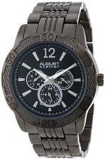 August Steiner Men's AS8058BK Quartz Multi-Function Sport Bracelet Watch $445