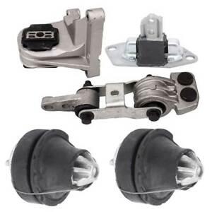 5Pcs Engine Mounts for VOLVO 99-14 S60 S80 V70 XC70 XC90 275 2.5T 30778951