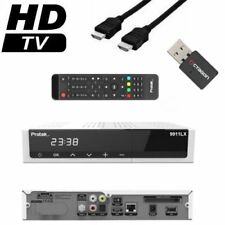 Protek 9911 LX E2 Linux HDTV Full HD 3D Sat Receiver 1x DVB-S2 inkl. WLan Stick