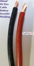 20mm² HiFlex Battery Cable Black or Red 135A 12v  Classic Auto 322/0.3 to length