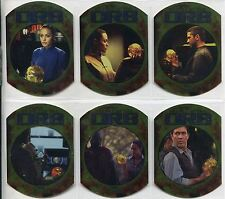 Tomb Raider The Cradle Of Life Complete Secret Of The Orb Chase Card Set SO1-6
