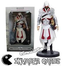 Assassins Creed Brotherhood Ezio Auditore Da Firenze PVC Statue Figure New Box