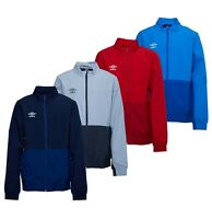 Boys Umbro Woven Sportwear Casual Training Jacket Sizes Age from 7 to 14 Yrs