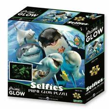 Super 3D Glow in the Dark 100Pc Jigsaw Puzzle - Ocean Selfie By Crown & Andrews