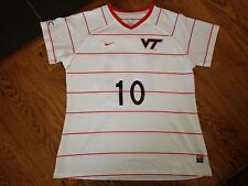 13116ef6113 2012 Nike Virginia Tech Hokies  10 Womens Game Worn Soccer Jersey