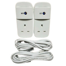 More details for 2 x bt mini connectors v2 version 2 1000mbps  1gb powerline adapters homeplugs