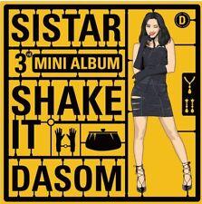 SISTAR -Shake It 3rd Mini Album CD+Photo Card+ Sealed Special Package K-POP
