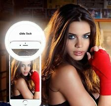 Selfie Ring LED Camera Ring Flash Android IPhone, Mobile, Tablet or Laptop